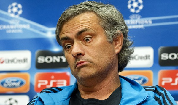 Jose Mourinho  (Photo credit should read OLAF KRAAK/AFP/Getty Images)