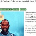 media asing beritakan carlton cole