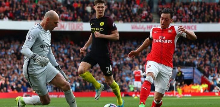 Arsenal Vs Manchester City (Getty Images)