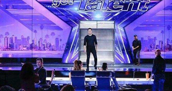 Demian di panggung America's Got Talent 2017. (Instagram/_demianaditya_)