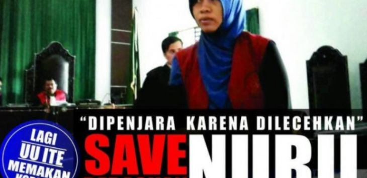 Save Ibu Nuril. Foto: Change.org