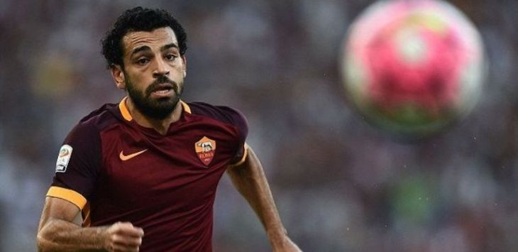 Mohamad Salah, AS Roma (@AFP/Getty Image)