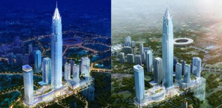 Ilustrasi SIgnature Tower