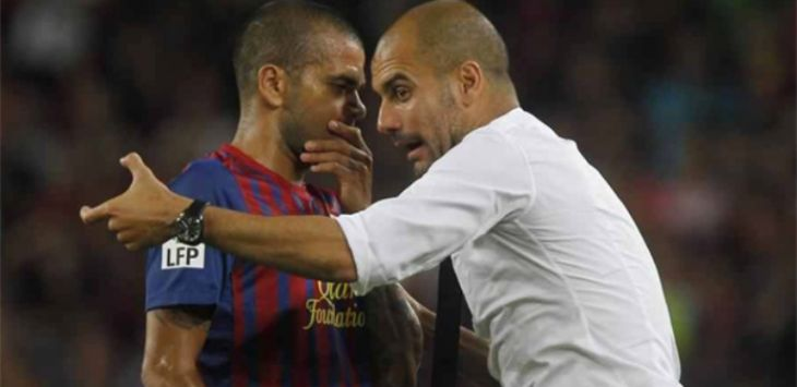 Dani Alves- Pep Guardiola (ist)