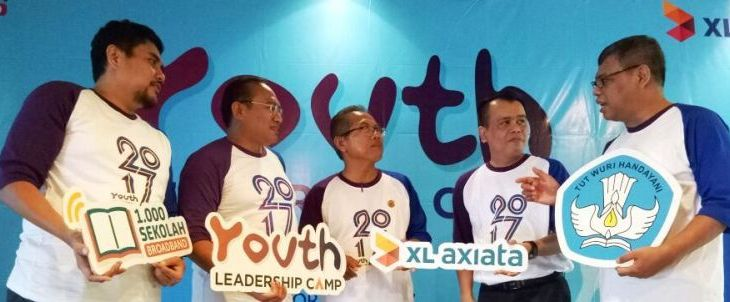 "PT XL Axiata Tbk (XL Axiata) menyelenggarakan Program ""Youth Leadership Camp 2017"""