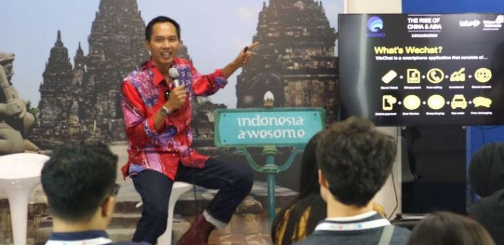 Head of Marketing & International Channel Divisi Digital Service PT Telkom  R. Bayu Hartoko
