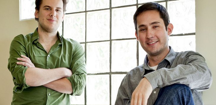 Kevin Systrom dan Mike Krieger